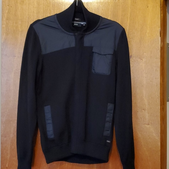 Hugo Boss Other - Boss Hugo Boss Knit Bomber Jacket